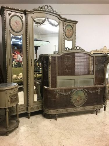 Superb Antique French Bedroom Suite - Due In - c3